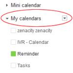 Google My Calendars