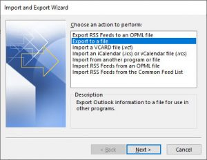 Outlook-Export-To-File