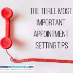 important appointment setting tips