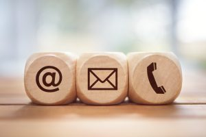 Call Text Email Blocks